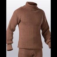 Водолазный свитер из верблюжьей шерсти
