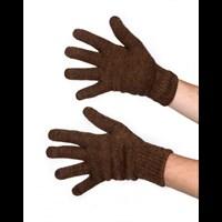Перчатки однослойные Унисекс из верблюжьей шерсти